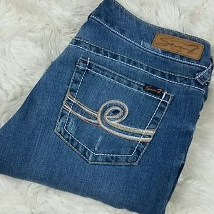 Seven7 Bootcut Stretch Jeans Size 12